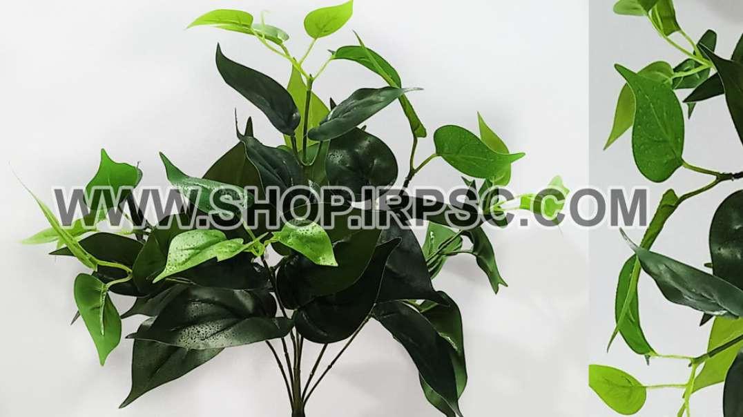 بوته پتوس مصنوعی سبز متوسط | گل پتوس مصنوعی