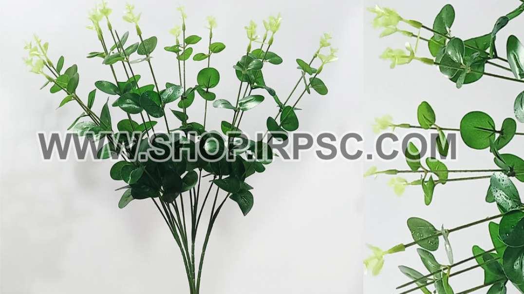 بوته شمشاد مصنوعی سبز ریز | گل مصنوعی شمشاد