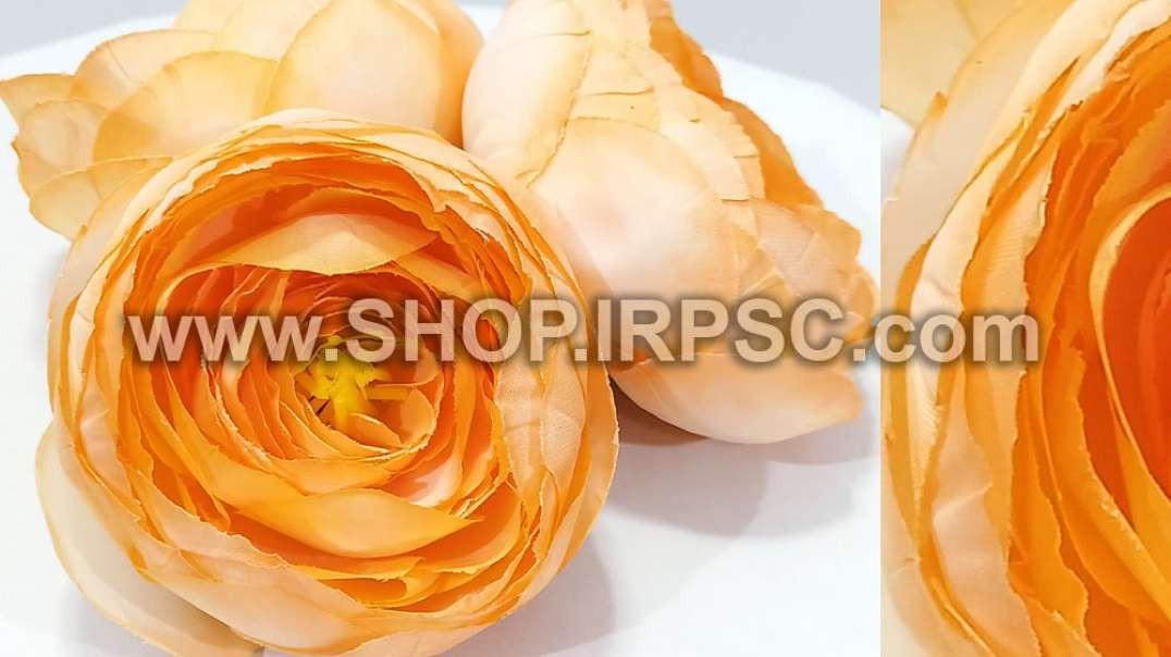 سرگل پیونی مصنوعی نباتی بزرگ | پیونی نباتی رنگ | گل مصنوعی