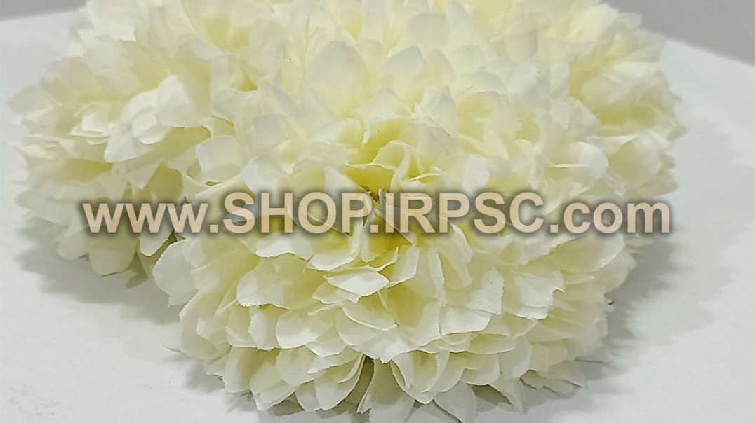 سرگل مصنوعی داوودی سفید   قیمت گل داوودی   گل مصنوعی پخش عمده