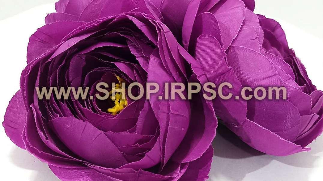 سرگل آنوما مصنوعی سوپر بنفش | گل آنوما بنفش | گل مصنوعی