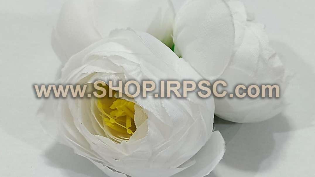 سرگل پیونی مصنوعی کوچک سفید | پیونی سفید | گل مصنوعی